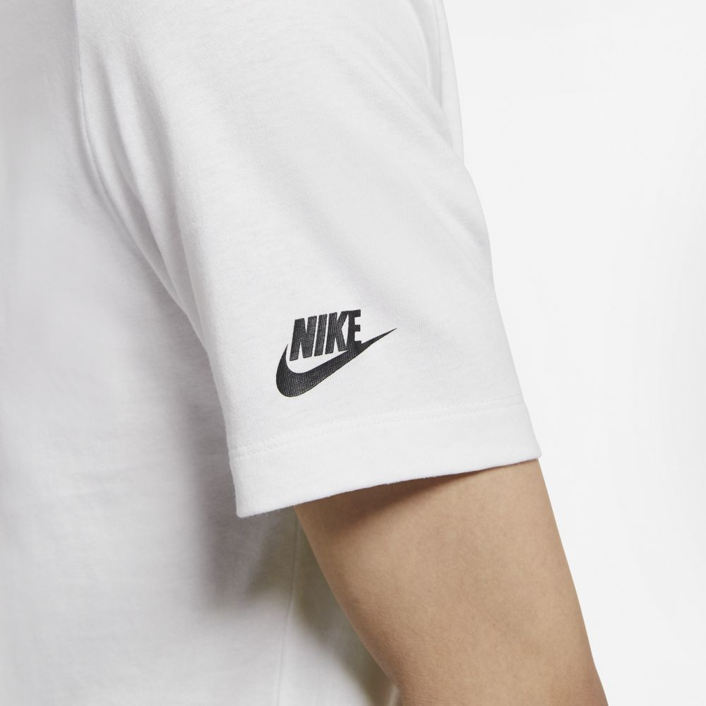 NIKE SPORTSWEAR SWOOSH IS OUT THERE T-SHIRT WHITE