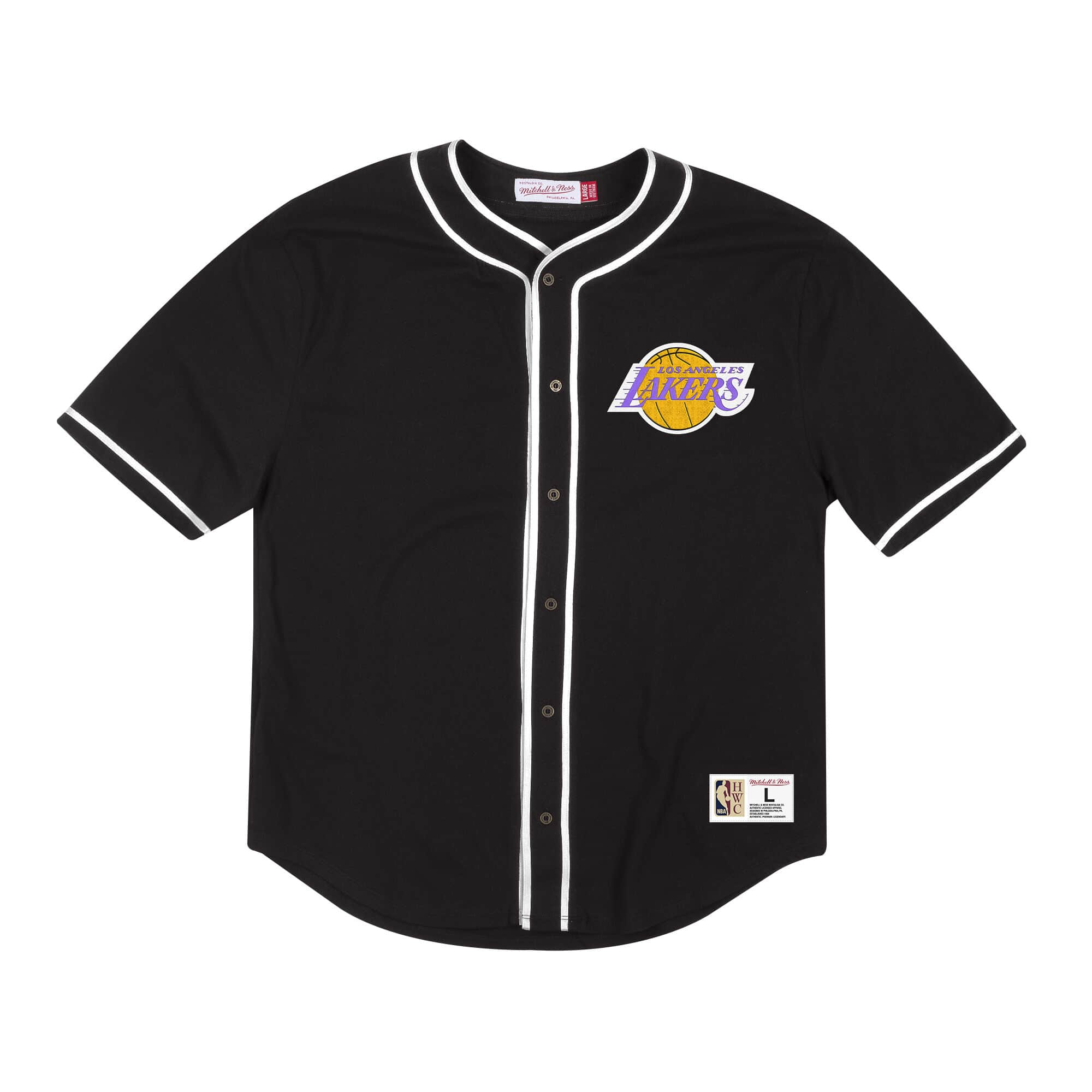 MITCHELL & NESS COTTON BUTTON LOS ANGELES LAKERS
