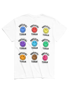 CHINATOWN MARKET SMILEY COLOR T-SHIRT WHITE