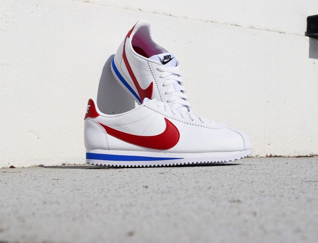 CORTEZ BASIC LEATHER WHITE/VAR