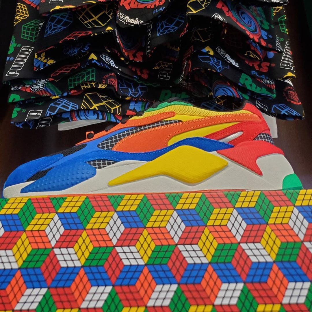 RS X3 RUBIKS MULTI COLOR
