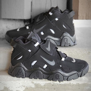 NIKE AIR BARRAGE MID BLACK/BLA