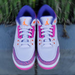 Load image into Gallery viewer, JORDAN 3 RETRO TD BARELY GRAPE
