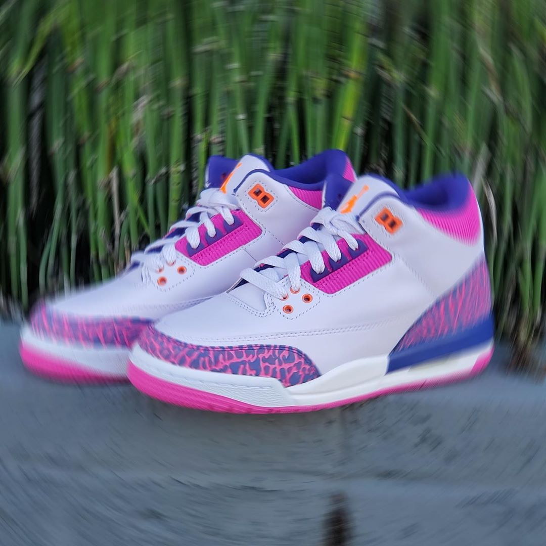 JORDAN 3 RETRO TD BARELY GRAPE
