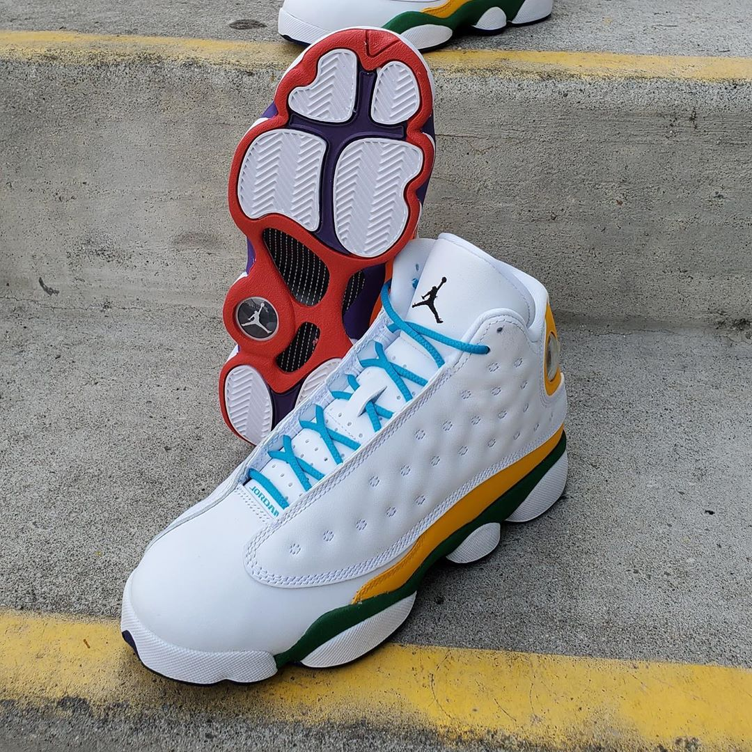 AIR JORDAN 13 RETRO KSA GS WHI