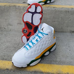 Load image into Gallery viewer, AIR JORDAN 13 RETRO KSA GS WHI