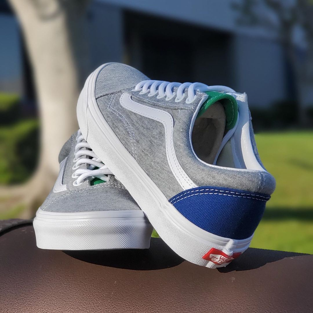 VANS OLD SKOOL COASTAL GREY/WHITE