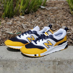 Load image into Gallery viewer, NEW BALANCE NEW PREP WHITE/YELLOW/NAVY