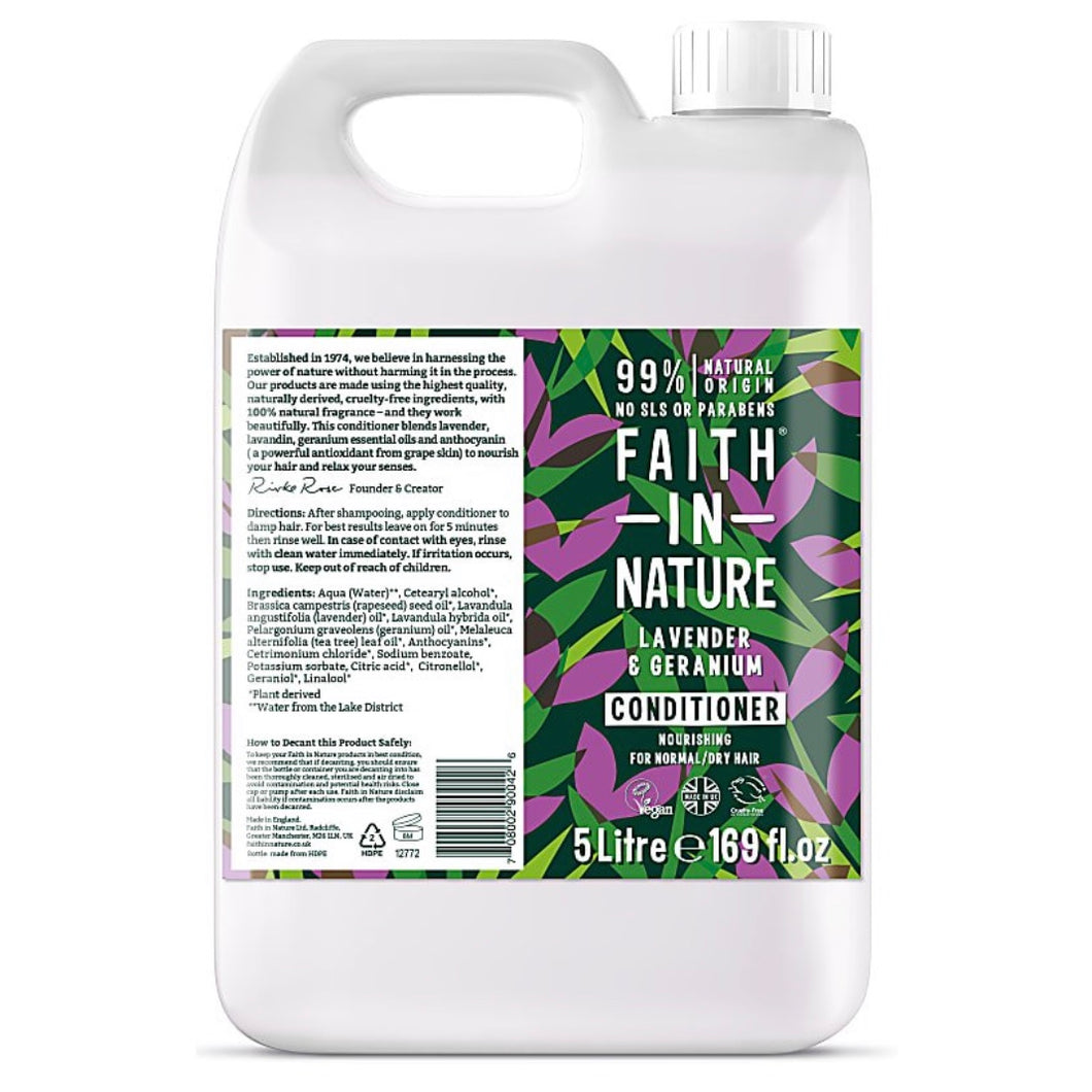 Faith in Nature Conditioner Refill - Lavender & Geranium