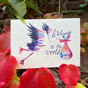Welcome to the World Greetings Card