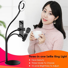 Load image into Gallery viewer, Phone Holder with Lamp and Microphone Holder - Ledom Life Savers
