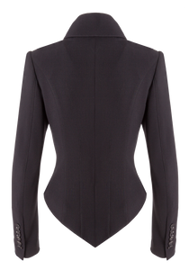 Norisol Ferrari black jacket, back side