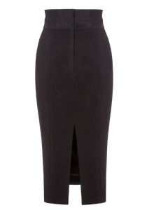 Norisol Ferrari black skirt, back side