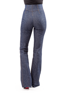 Norisol Ferrari indigo denim pants, back side