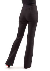 Norisol Ferrari black pants, back side.