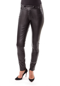Norisol Ferrari black leather pants