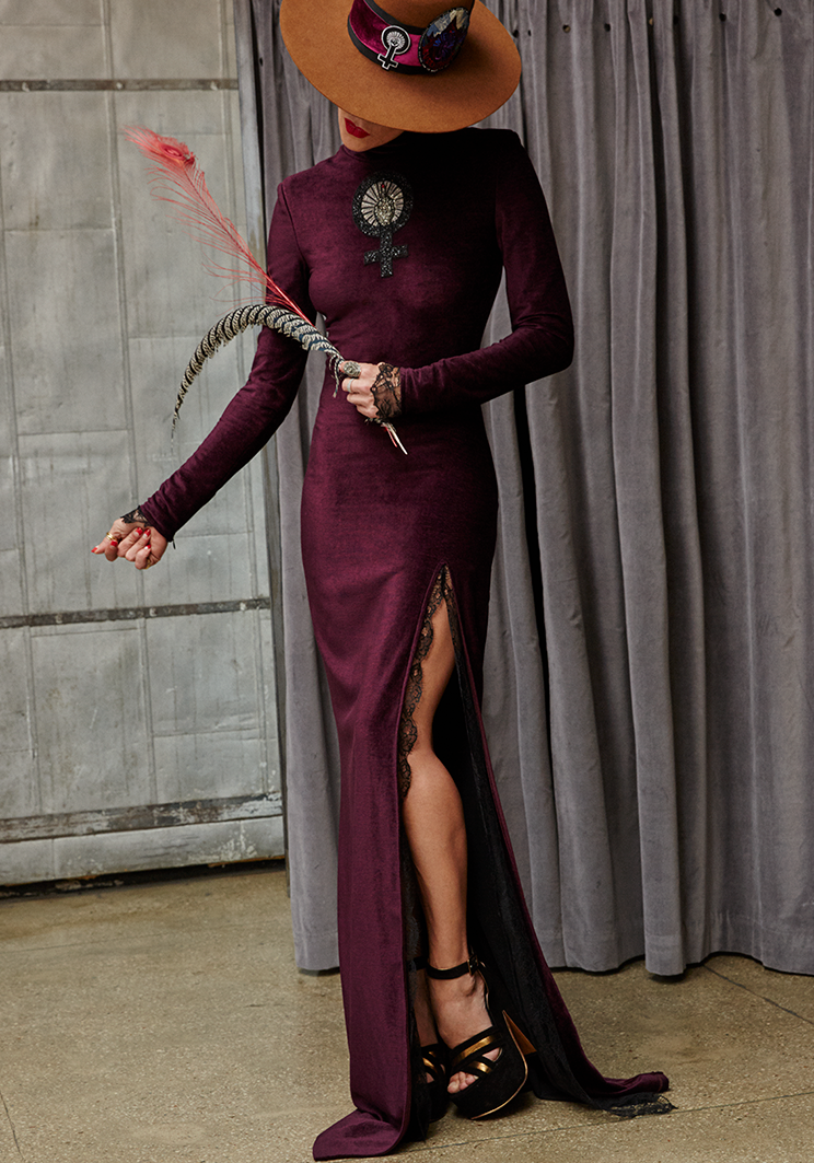 Norisol Ferrari Unicorn Blood dress
