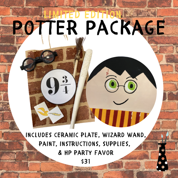 HARRY POTTER-Y  POTTER PACKAGE