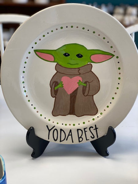 STAR WARS YODA CHARGER PLATE
