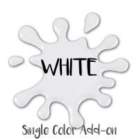 SINGLE COLOR ADD-ON WHITE