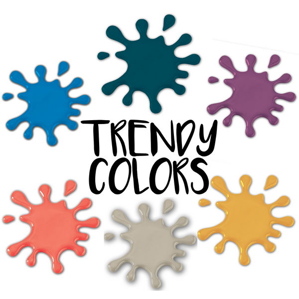 PAINT COLORS TRENDY