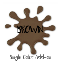 SINGLE COLOR ADD-ON BROWN