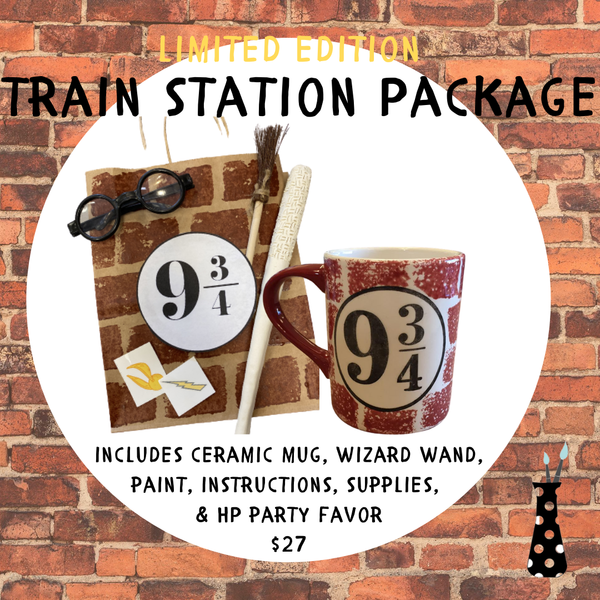 Harry Potter-y Train Station Package
