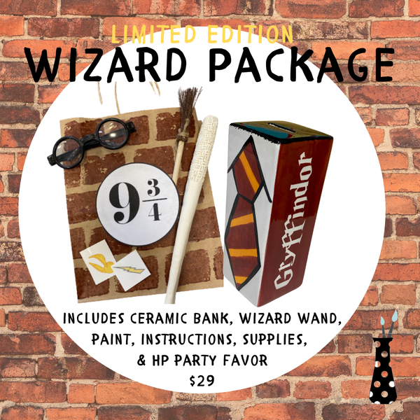 Harry Potter-y Birthday Wizard Package