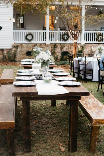 Low Country Wedding at Duncannon Plantation Featured on Rustic Chic Wedding Blog {Ruth's House Event Rentals}