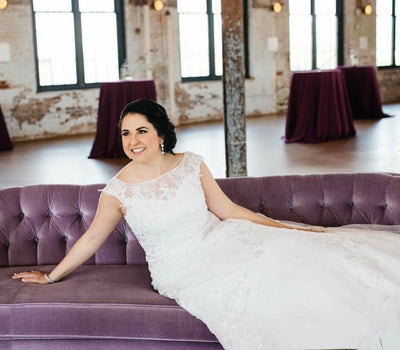Charleston Brides + Our Sofas = A Beautiful Wedding Photo