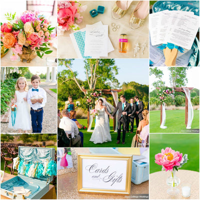 Charleston Wedding - Beautiful Collage by Beautiful Bride Events, Charleston, SC