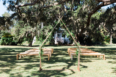 A Refined Fall Rustic Wedding at Cypress Tress Plantation