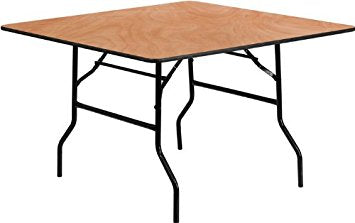 Tables [48 inch square]