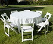 Tables [60 inch round table]