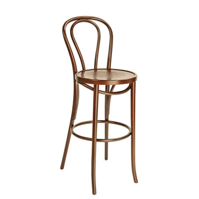 Chair [Bentwood High Chair with Back - Walnut]