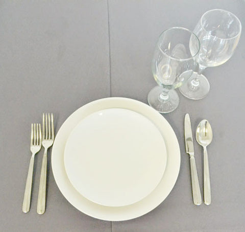 Tableware Setting Bundle [The Essentials - China/Silverware/Glassware]