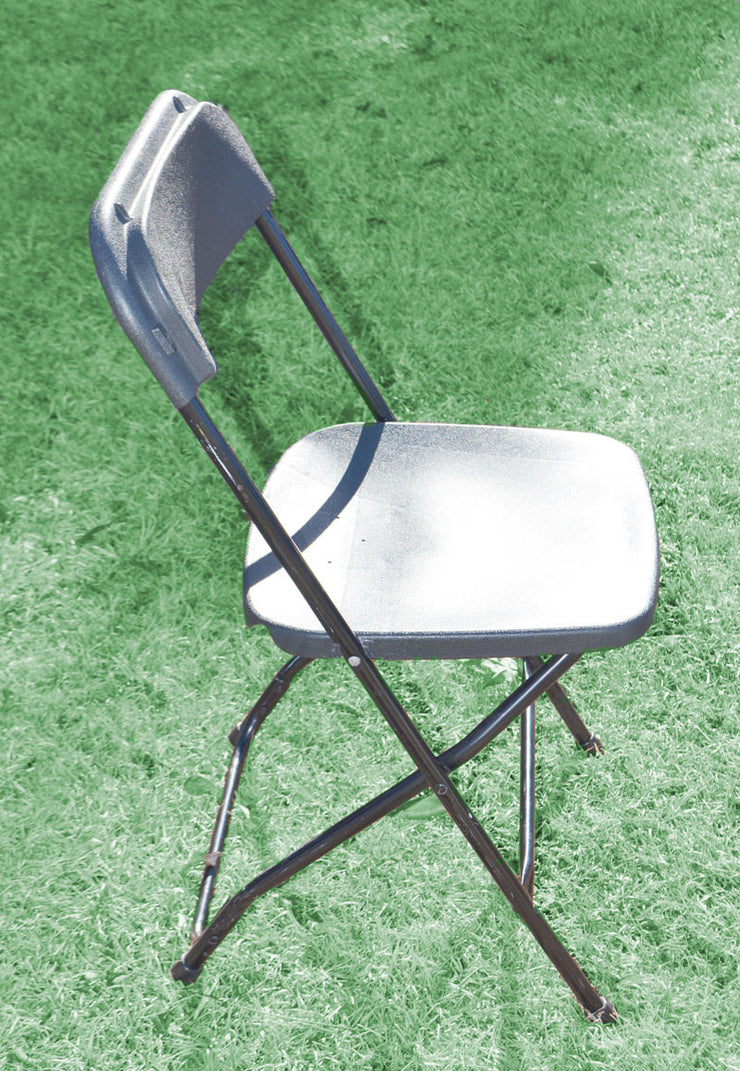 Chair [Folding - Plastic Black]