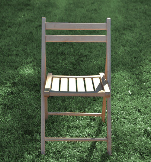 Chair [Folding-Wood Natural]