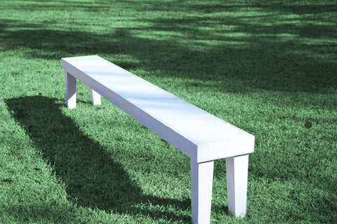 Bench - Rustic [White]