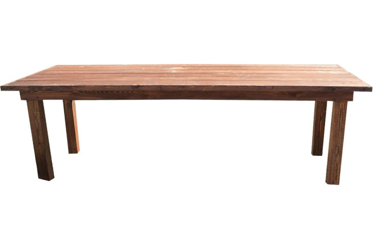 Farm Table - Rustic [8ft Walnut]
