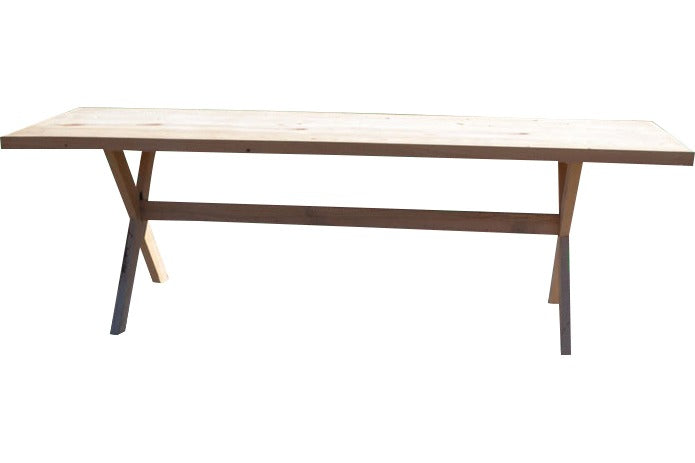 Farm Table - Rustic [8ft Natural Cypress]
