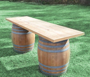 Lounge [Wine Barrel Table]