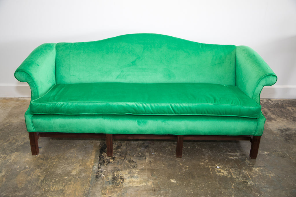 Lounge Furniture Vintage Sofa Emerald Green Ruths
