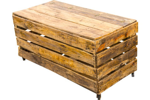 Lounge Furniture - Rustic Wood [Crate Coffee Table]