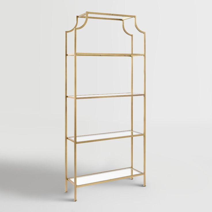 Bar - Gold Pagoda Shelf