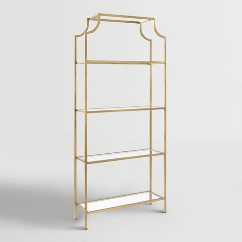 Bar - Pagoda Shelf [ Gold & White]