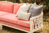 Lounge Furniture - Vintage Sofa [Pink Rose Velvet]