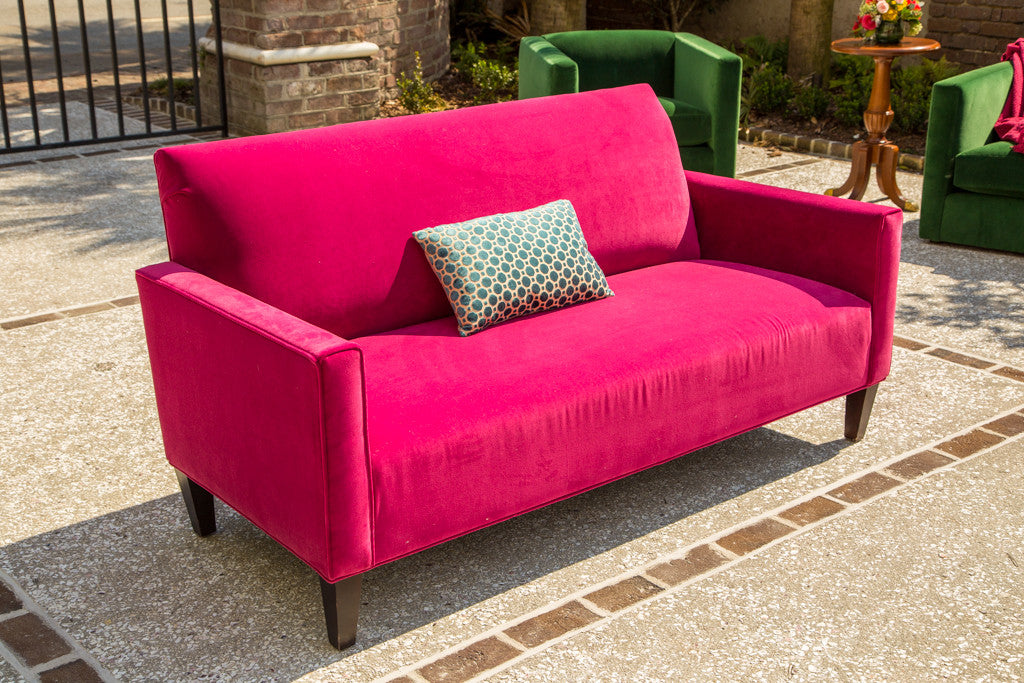 Superior Lounge Furniture   Sofa [Settee Sofa In Fuschia]