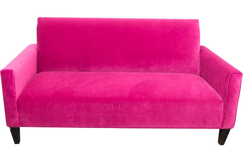 fuschia furniture. lounge furniture sofa settee in fuschia