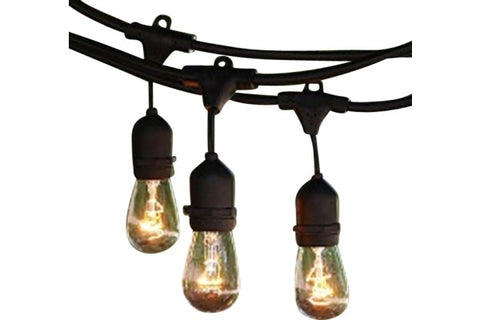 Lighting - String Drop Deco Bulbs [Black]
